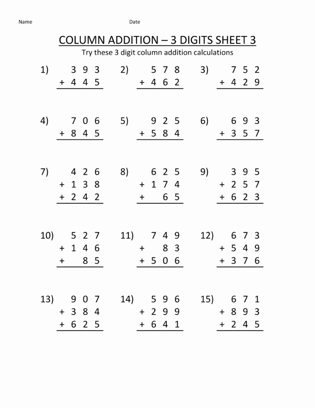 1st Grade Multiplication Worksheets New Worksheet Remarkable First Grade Math Papers Worksheete