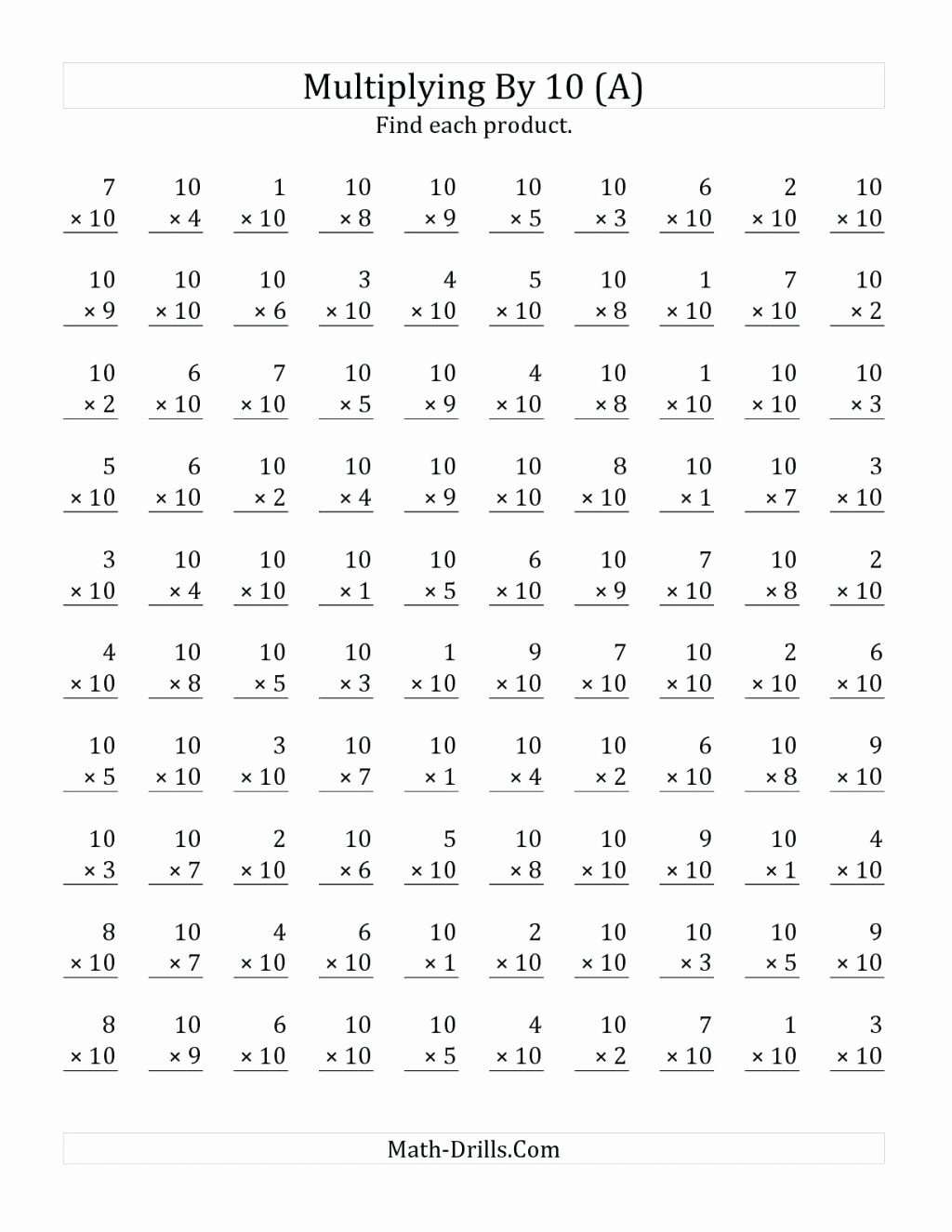 3rd Grade Multiplication Worksheets Free Printable Awesome Worksheet Marvelouslication Worksheets 3rd Grade Image