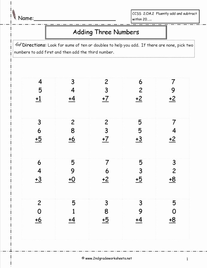 3rd Multiplication Worksheets Fresh Free Math Worksheets and Printouts 2nd 3rd Grade