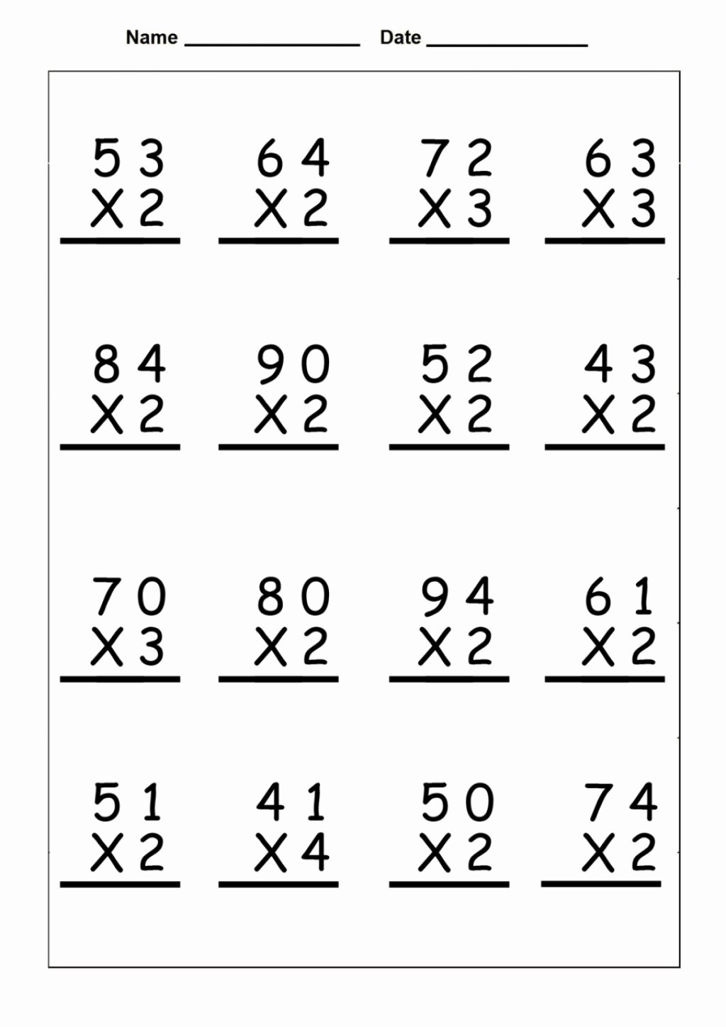 4th Grade Math Multiplication Worksheets Best Of Math Worksheet 59 Fantastic Printable Math Worksheets for