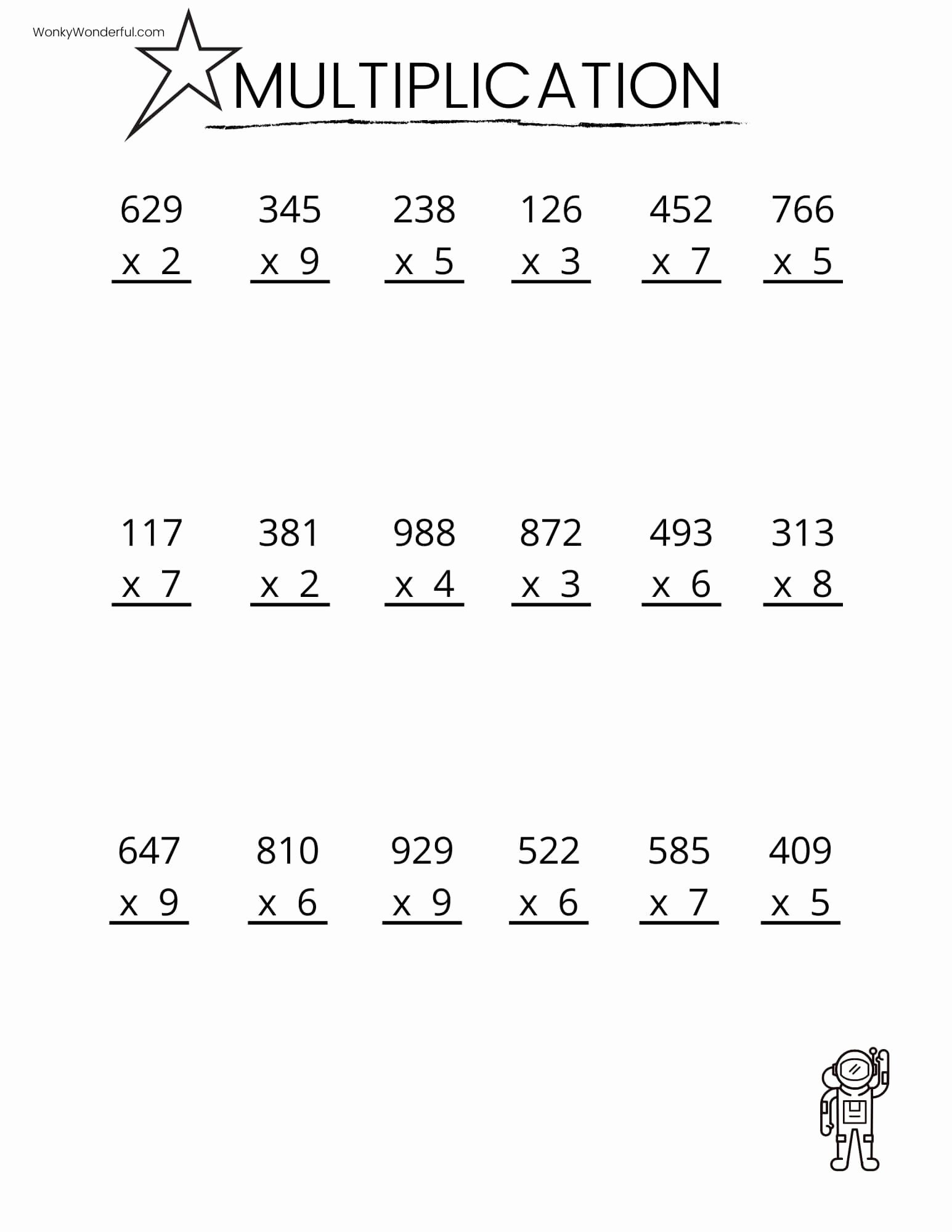 4th Grade Math Multiplication Worksheets Best Of Math Worksheet 64 Tremendous 4th Grade Math Multiplication