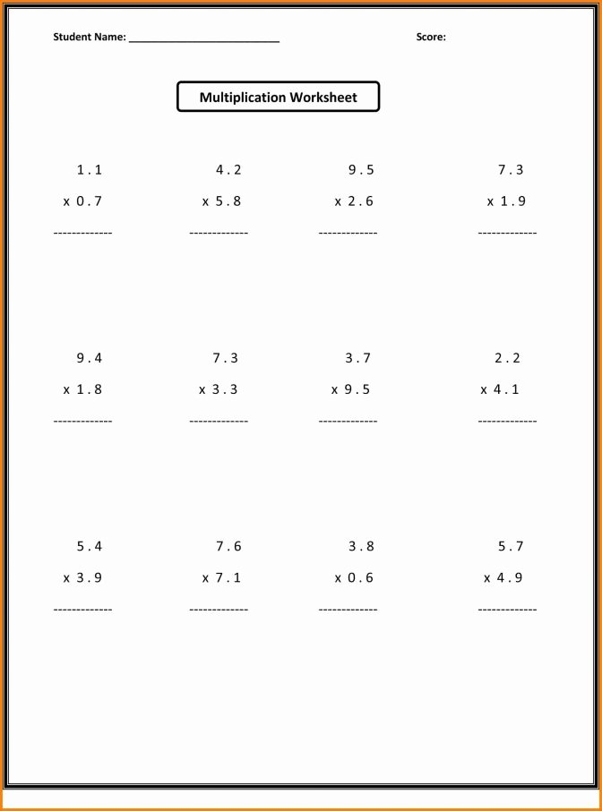 6th Grade Multiplication Worksheets Awesome 6th Grade Math Fractions Worksheets Free Pdf Youtubetable