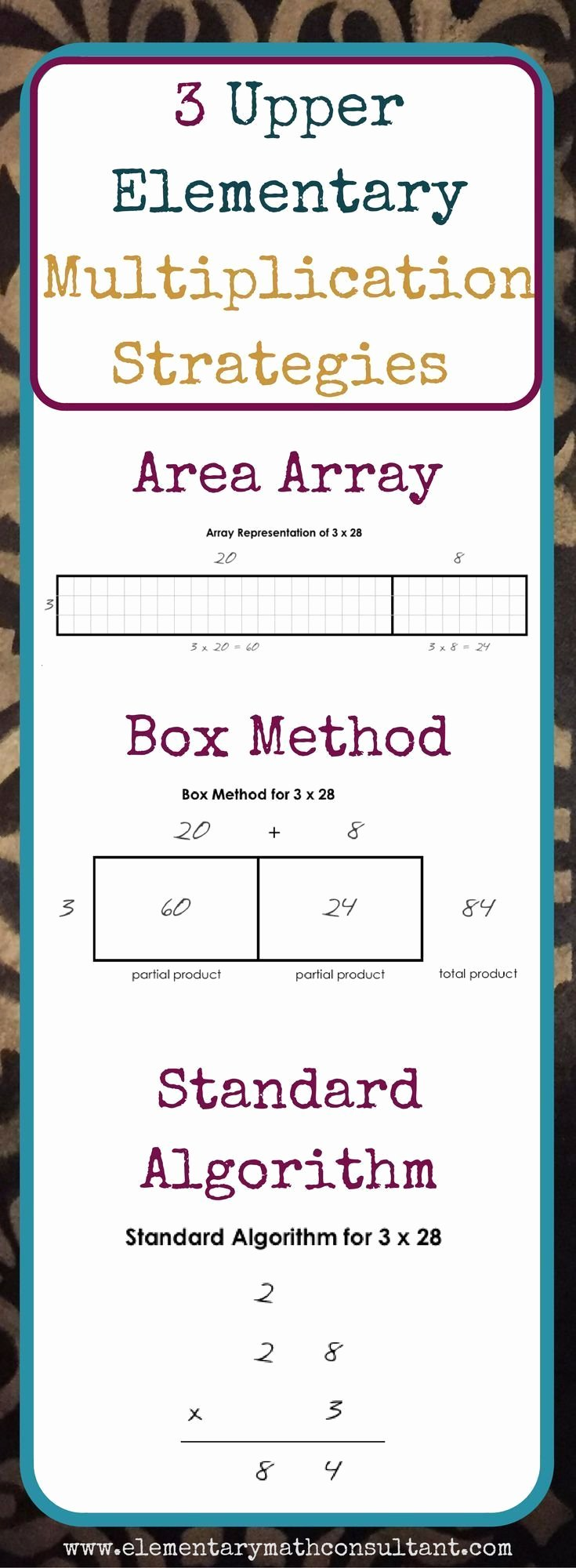 Box Multiplication Worksheets Best Of Number Multiplication Worksheets Teaching with the Box