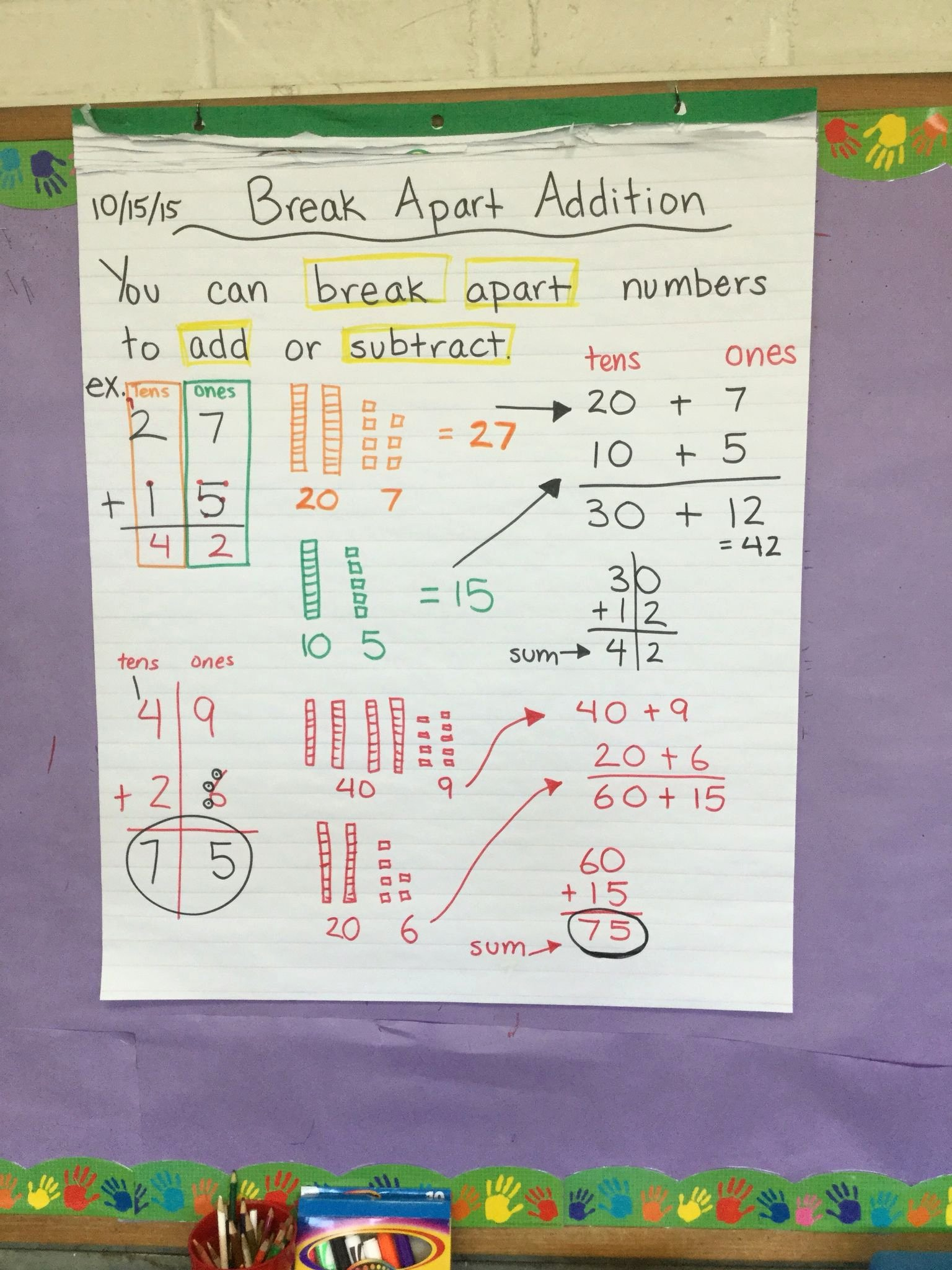 Break Apart Method Multiplication Worksheets New Break Apart Method Mon Core