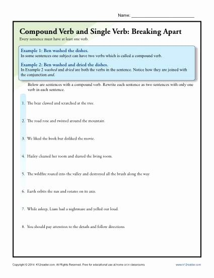 Break Apart Multiplication Worksheets 3rd Grade top Pound Verb and Single Breaking Apart the Effect