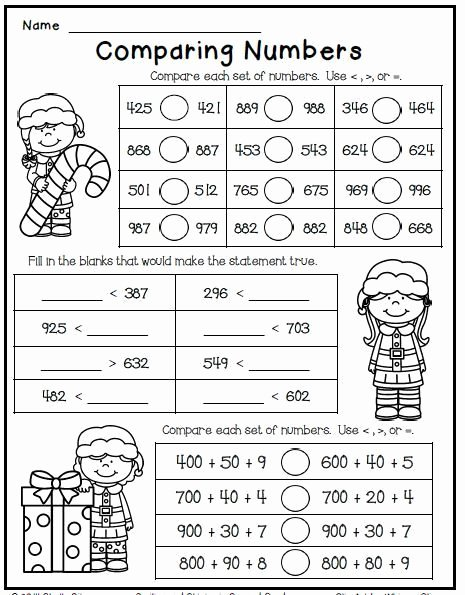 Christmas Multiplication Worksheets New Christmas Freebie Print and Go 2nd Grade Math Worksheets