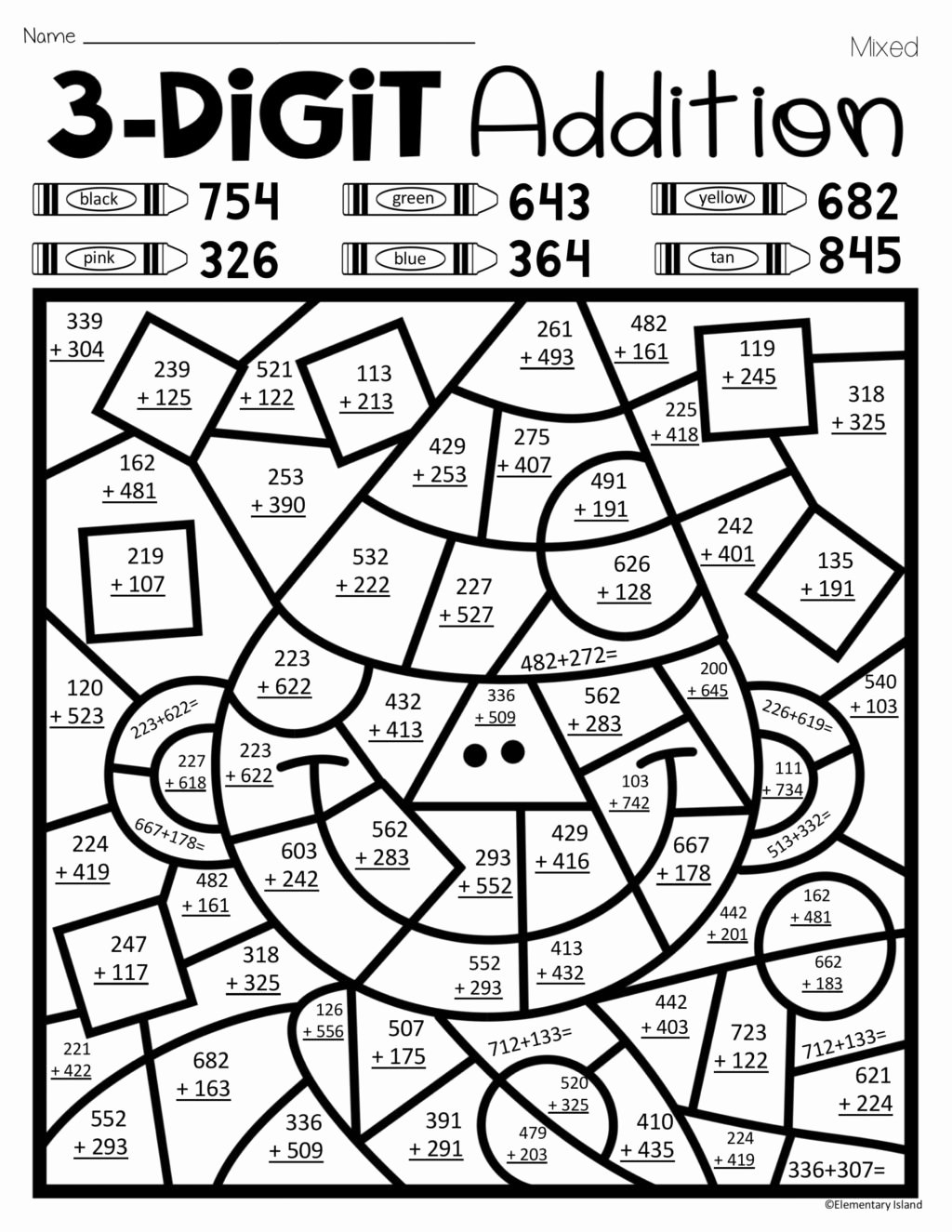 Color by Multiplication Worksheets Unique Coloring Book Multiplication Worksheets Free Math 5th Grade