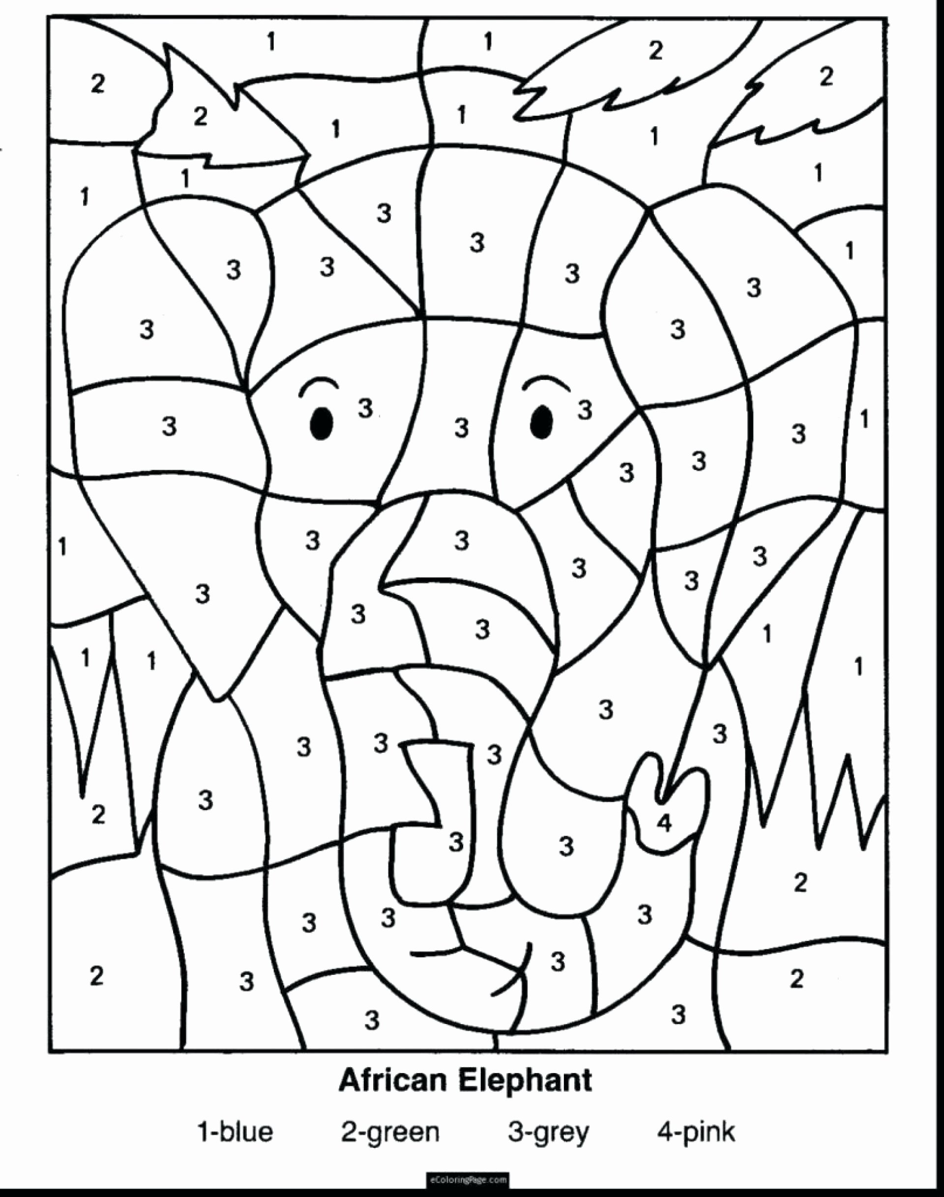 Color Multiplication Worksheets Unique Coloring Sheet 4th Grade Math Puzzle Worksheet Printable