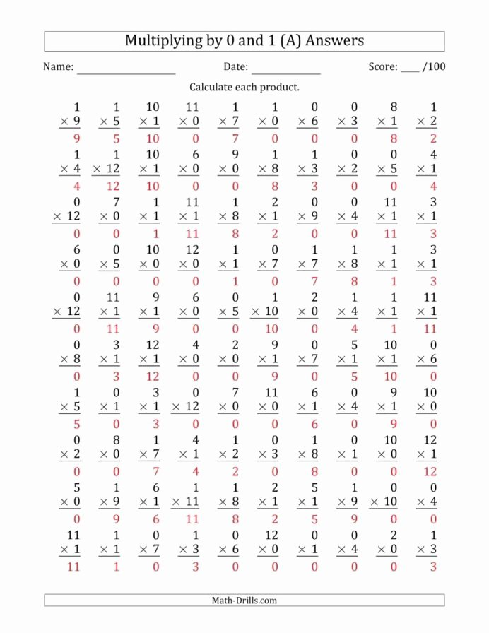 Custom Multiplication Worksheets Unique Multiplying by and with Factors to Questions Multiplication