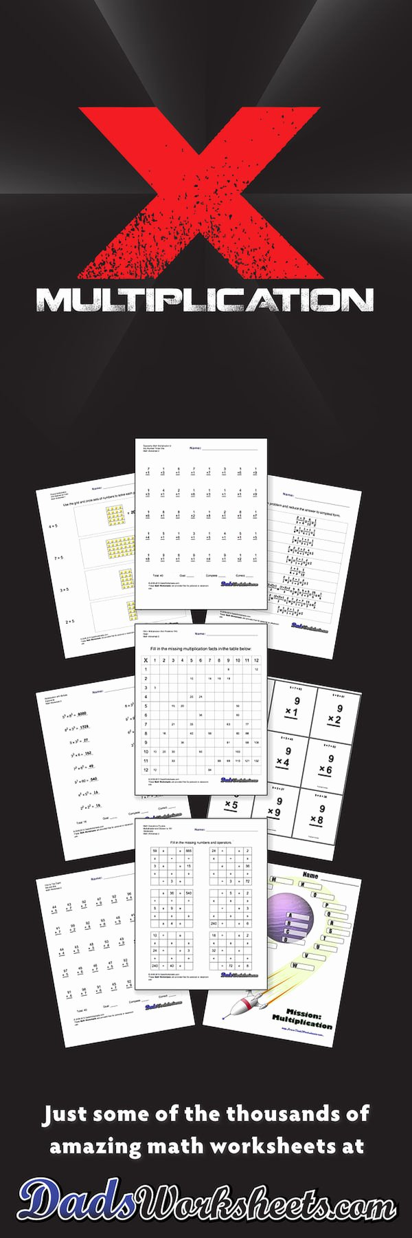 Dads Multiplication Worksheets Lovely 844 Free Multiplication Worksheets for Third Fourth and