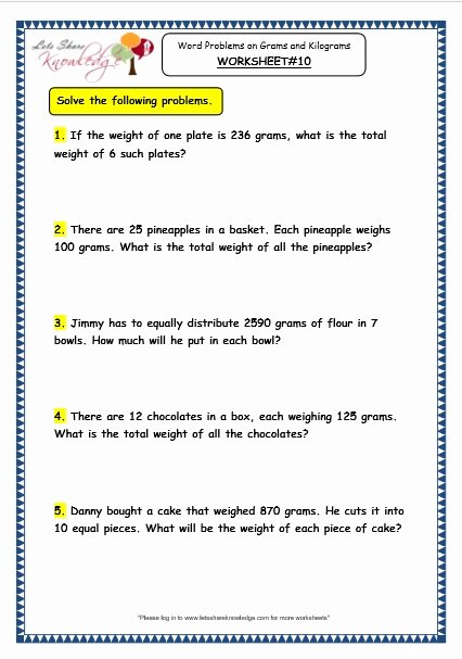 Division and Multiplication Worksheets for Grade 3 Awesome Grade 3 Maths Worksheets 12 8 Word Problems On