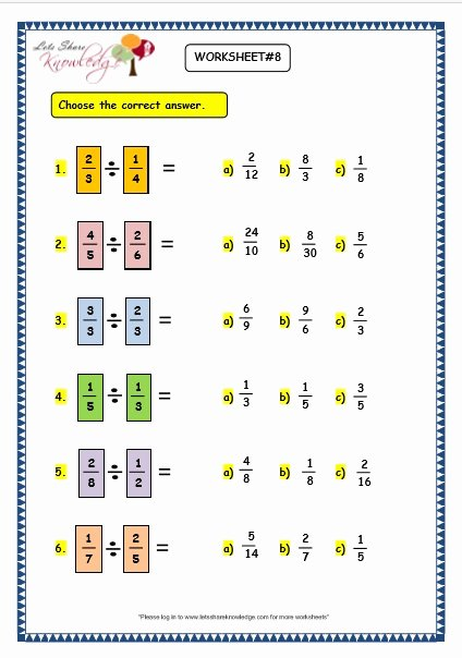 Division and Multiplication Worksheets for Grade 3 Fresh Grade 3 Maths Worksheets 7 8 Multiplying and Dividing