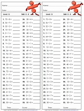 Division and Multiplication Worksheets New Basic Division Worksheets