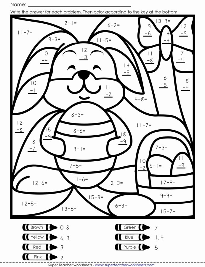 Easter Multiplication Worksheets New Coloring Book Easter Math Free Worksheets Fun with Numbers