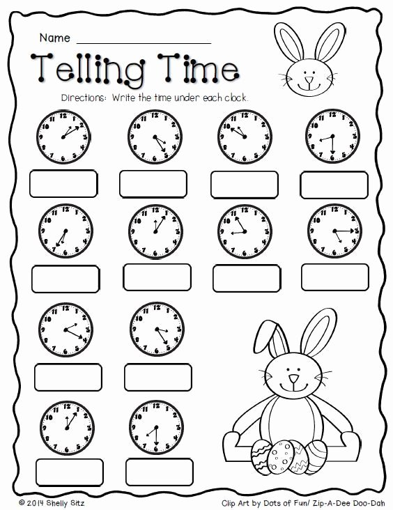 Easter Multiplication Worksheets New Easter Math Freebie 2nd Grade Free Worksheets Telling Time