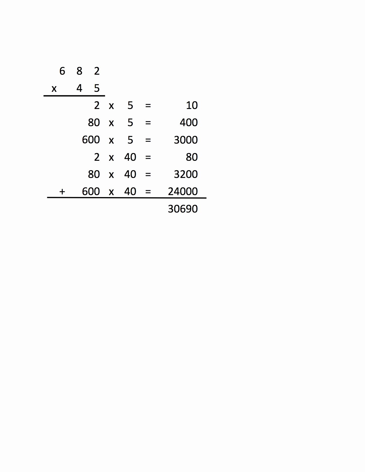 Expanded Algorithm Multiplication Worksheets Unique Algorithm Worksheet