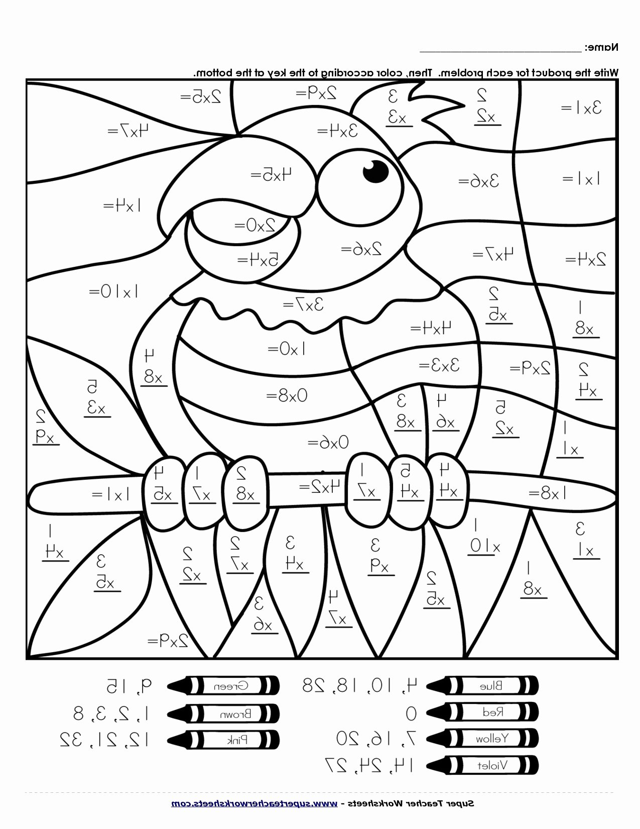 Fall Multiplication Worksheets Best Of Worksheet Worksheetiplication Coloring Puzzles Pages Fall