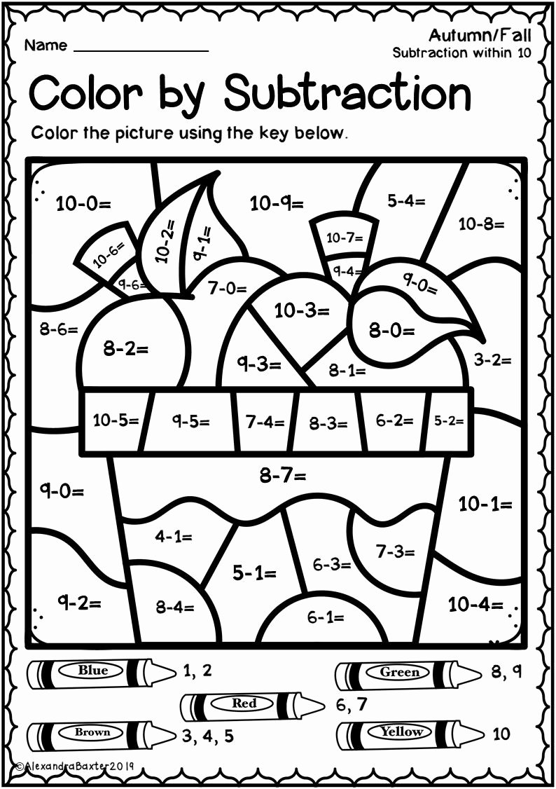 Fall Multiplication Worksheets Inspirational Printable Coloring Multiplication Worksheets Autumnfall
