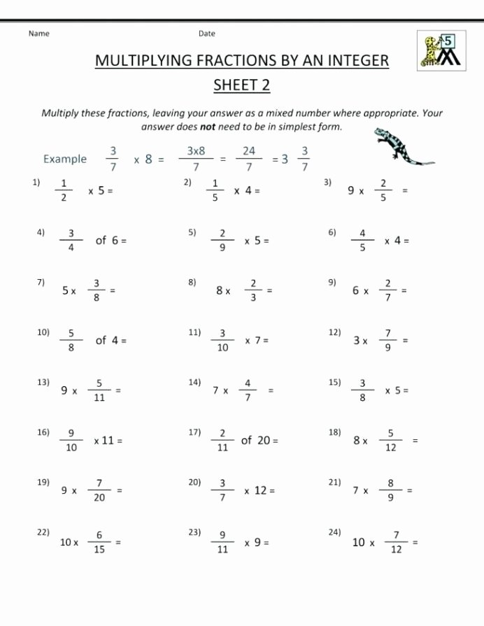 Fifth Grade Multiplication Worksheets top Fraction Worksheets 5th Grade Keepyourheadup Fifth Worksheet