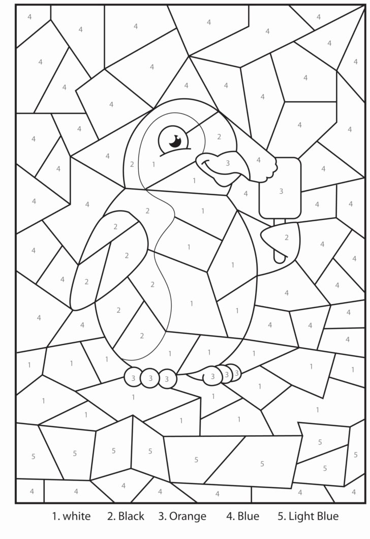 Free Multiplication Worksheets Grade 3 New Coloring Free Printable Penguin at the Zoo Colour by