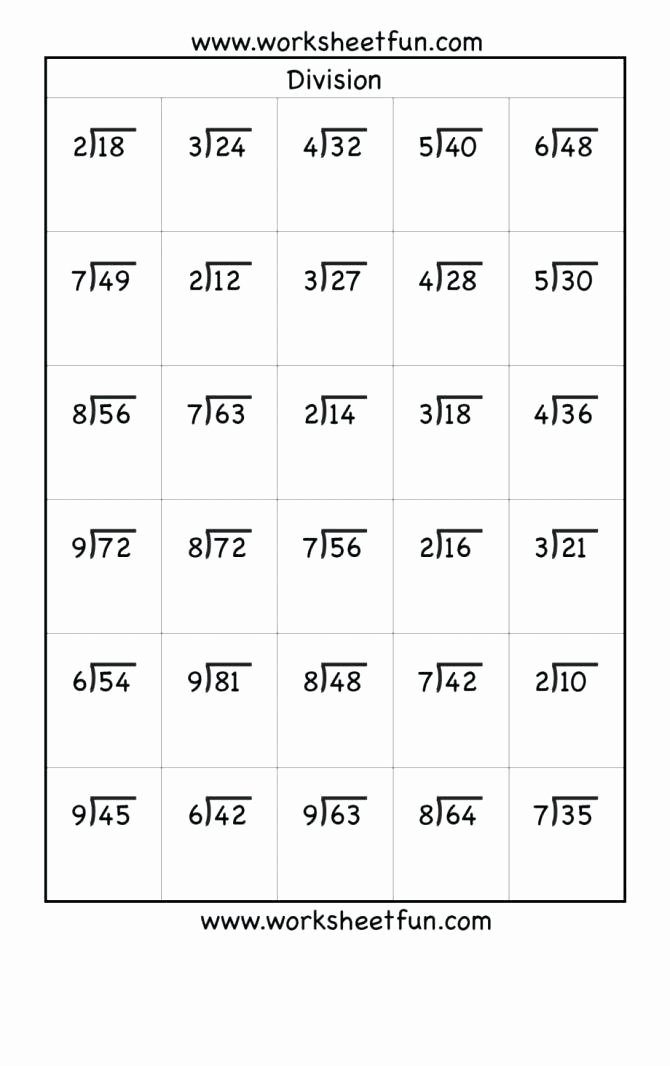 Free Printable Multiplication Worksheets for 4th Grade Awesome Printable Fourth Grade Math Sheets Free Worksheets 4th to
