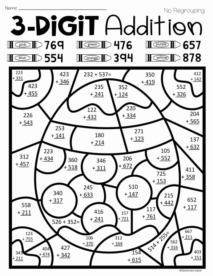 Fun Multiplication Worksheets Free Lovely Free Color by Number Math Worksheets Tag Free Fun