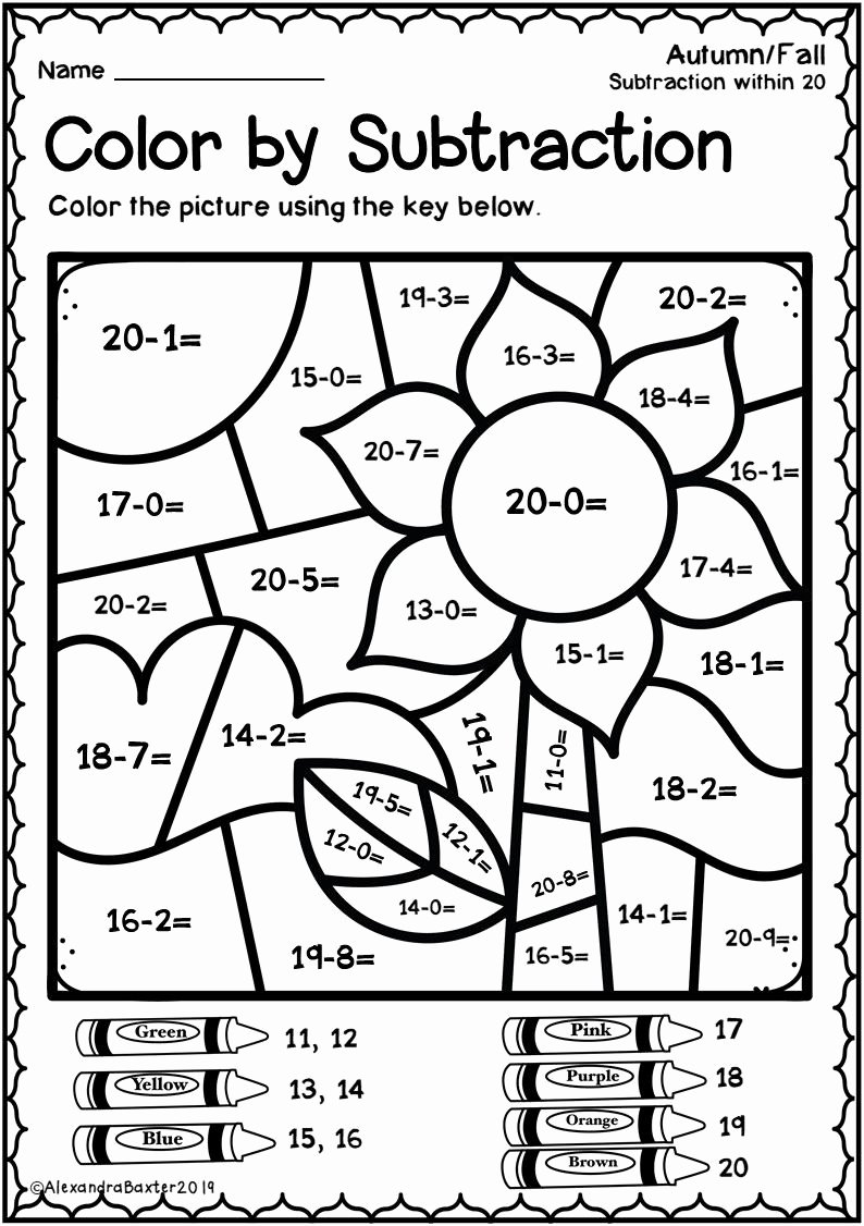 Fun Multiplication Worksheets Free Lovely This Resource is A Selection Of Color by Code Color by