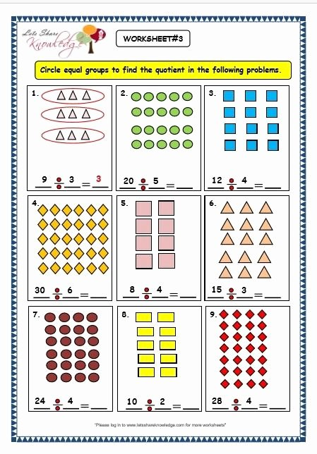 Grouping Multiplication Worksheets New Division Grouping Worksheets In 2020