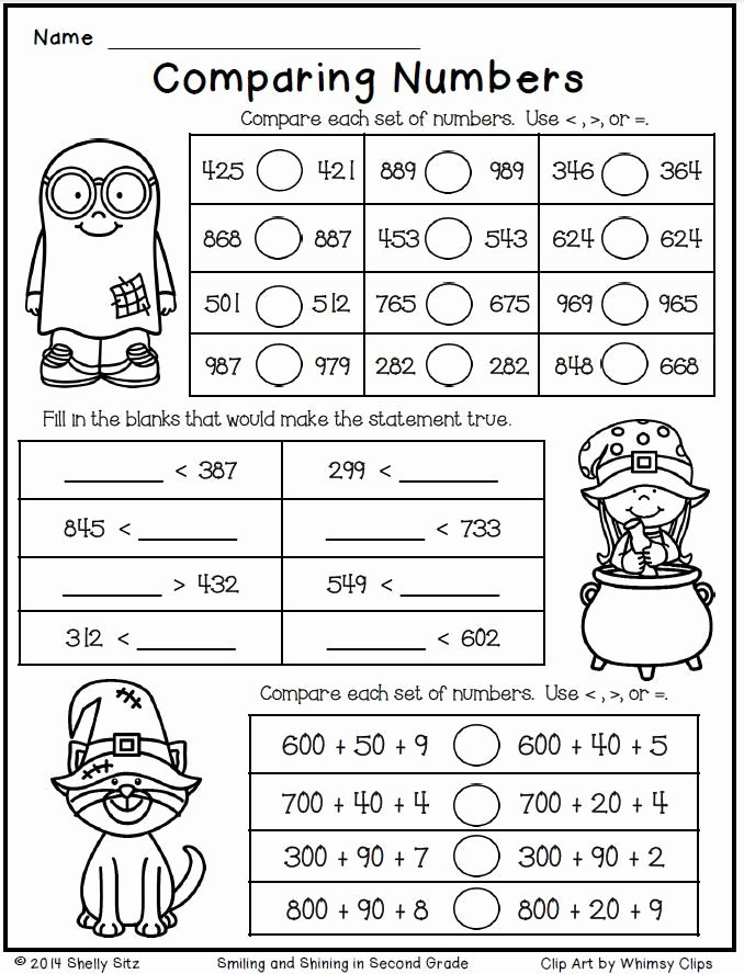 Halloween Multiplication Worksheets Awesome Halloween Math for Second Grade 2nd Worksheets 3rd