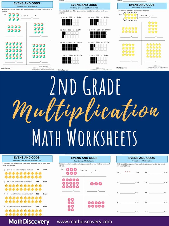 Intro to Multiplication Worksheets Best Of 2nd Grade Foundations Of Multiplication Worksheets