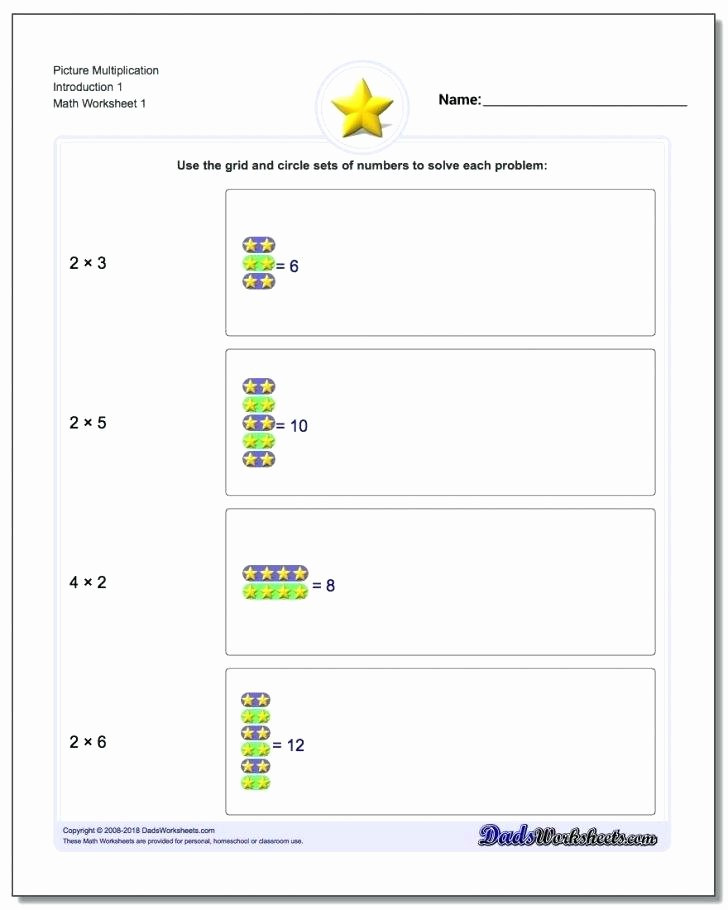 Introduction to Multiplication Worksheets Lovely Introduction to Multiplication Worksheets – Dailycrazynews