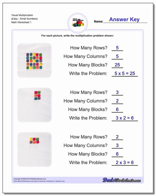 Introduction to Multiplication Worksheets New 844 Free Multiplication Worksheets for Third Fourth and