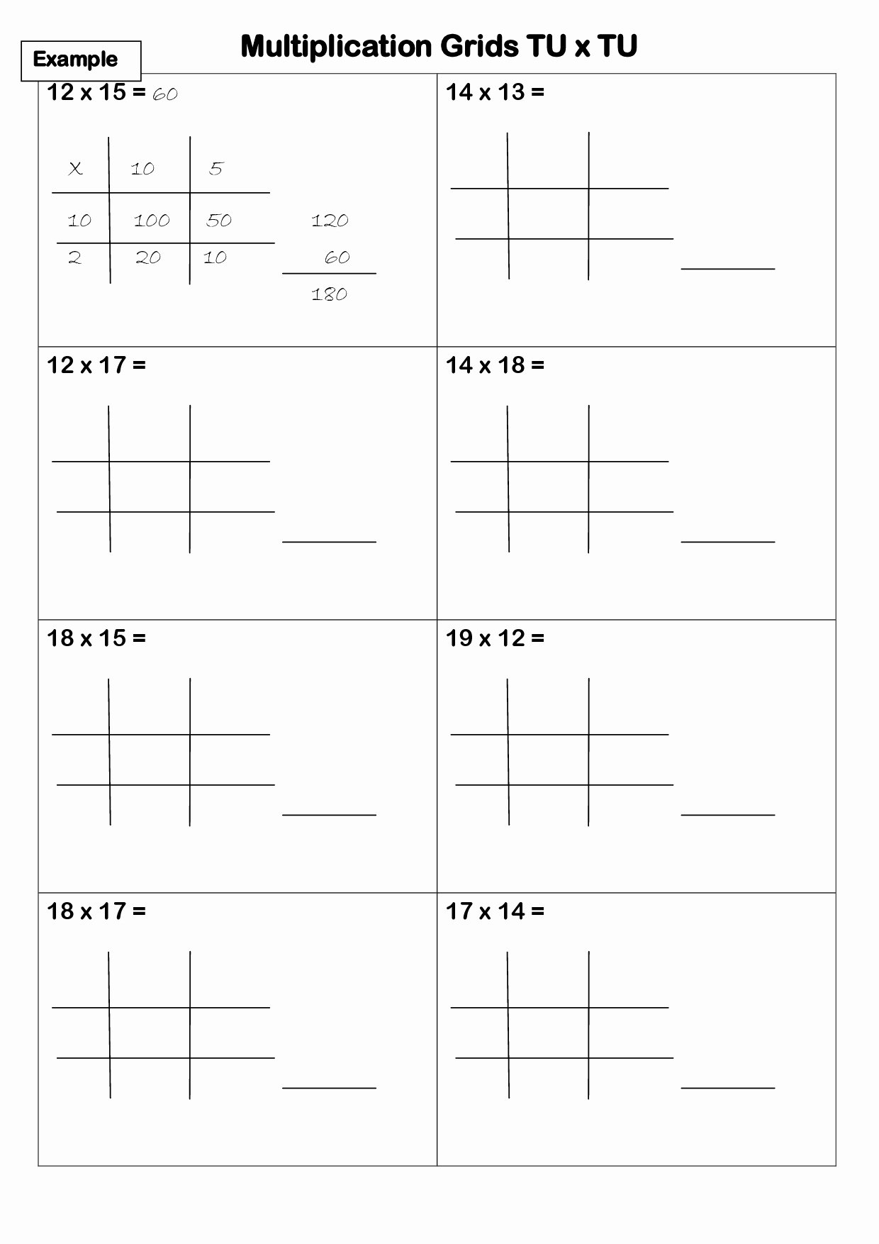 Lattice Method Multiplication Worksheets Inspirational Lattice Multiplication Cf Worksheet