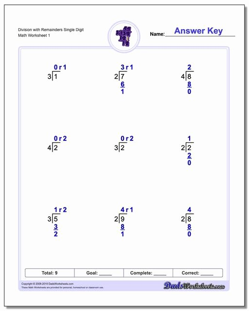 Long Division and Multiplication Worksheets Best Of Long Division Worksheets