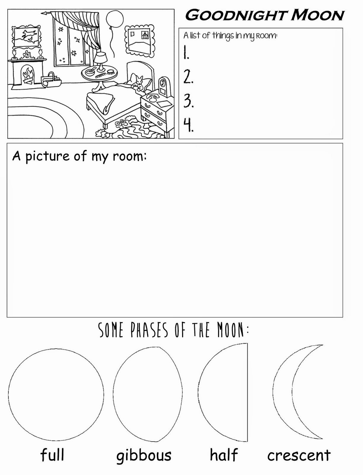 Montessori Multiplication Worksheets Unique Good Night Moon Worksheet Math Worksheets Getting to Know