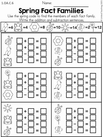 Multiplication Worksheets 1st Grade Best Of Spring Math Worksheets 1st Grade Distance Learning