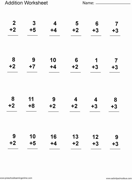 Multiplication Worksheets 1st Grade top First Grade Math Worksheets First Grade Math Printables