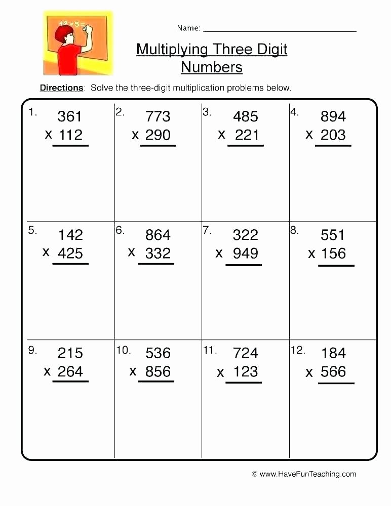 Multiplication Worksheets 2 Digit by 2 Digit Unique 2 Digit Multiplication and Division Worksheets