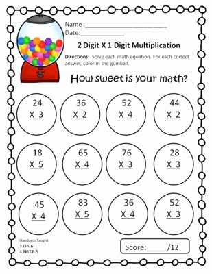 Multiplication Worksheets 2 Digits Lovely 4 4 A B D Multiplication Lessons Tes Teach