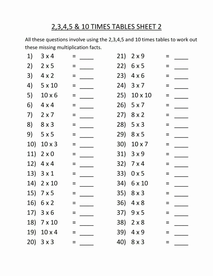 Multiplication Worksheets 3rd Grade Unique Simple 3rd Grade Multiplication Worksheets Best Coloring