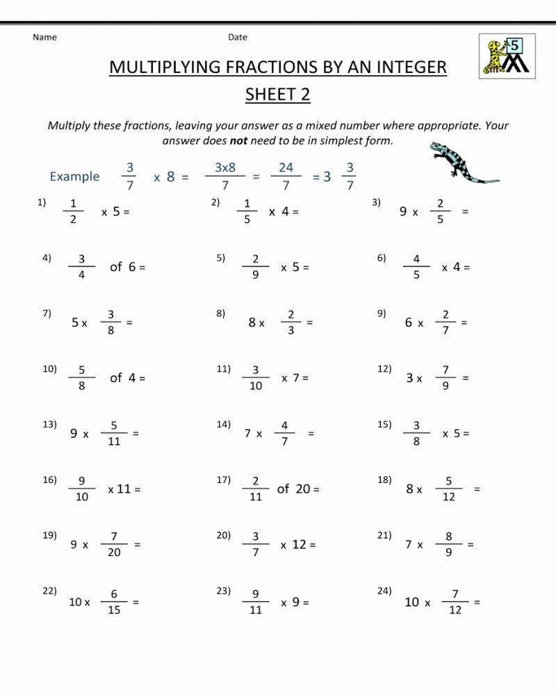 Multiplication Worksheets 5th Grade Best Of 5th Grade Printable Worksheets Math