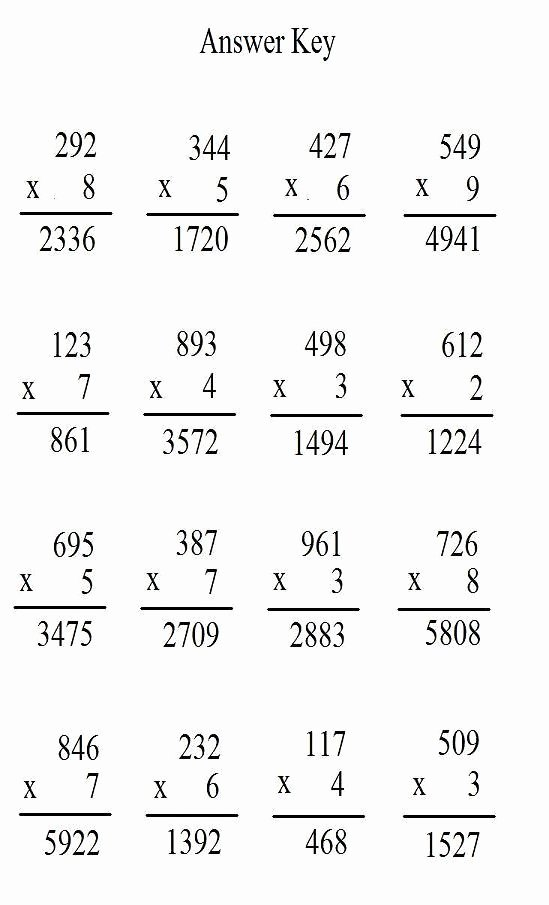 Multiplication Worksheets Answers Unique Coloring Pages Free Multiplication Printables Coloring