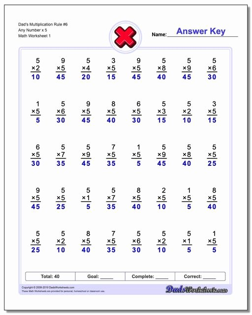Multiplication Worksheets by 6 Lovely Dad S Eight Simple Rules for Mastering the Times Table