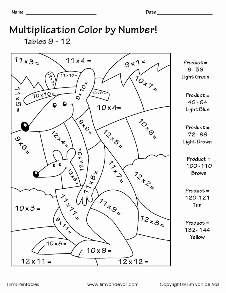 Multiplication Worksheets Color by Number Awesome Math Worksheet Color by Number Multiplication Coloring