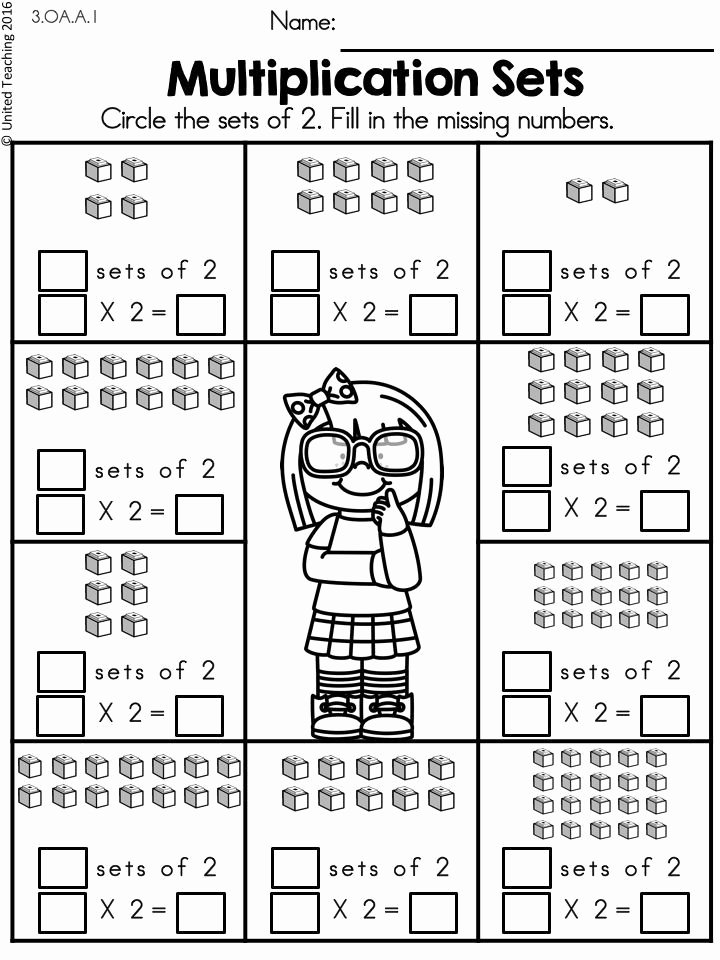 Multiplication Worksheets for 2 Times Tables Inspirational Multiplication Worksheets 2 Times Tables