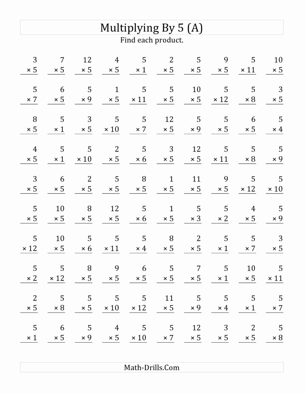 Multiplication Worksheets for 7th Graders Unique Worksheet 3rd Grade Multiplications to Print 4th 5th 7th