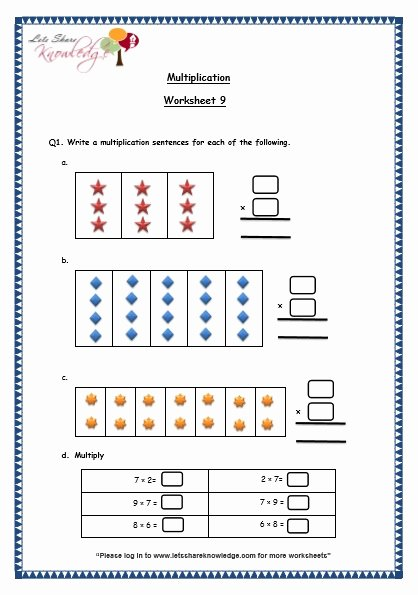 Multiplication Worksheets for Grade 3 Awesome Grade 3 Maths Worksheets 5 1 Multiplication [0 10