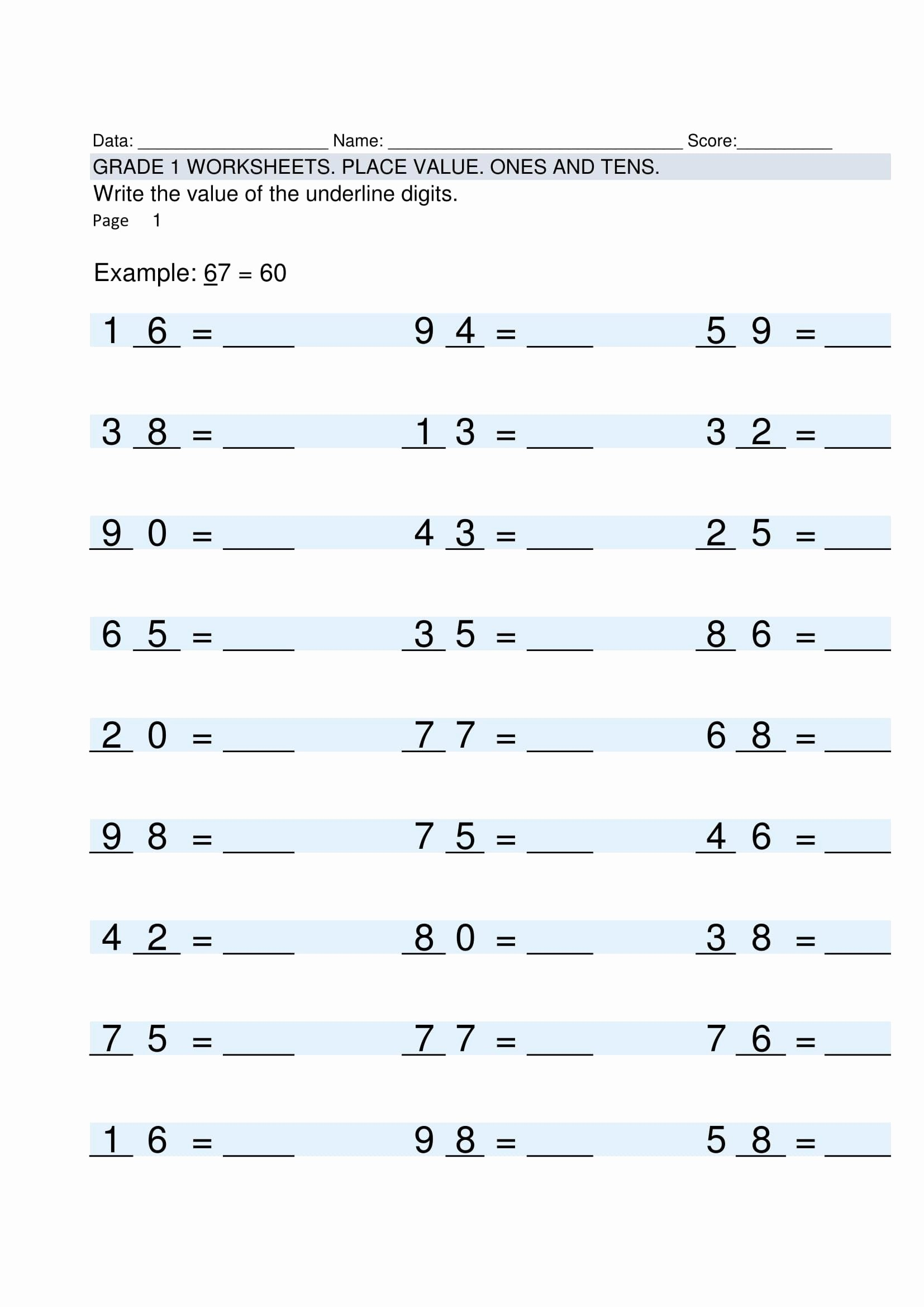 Multiplication Worksheets for Grade 5 Lovely Free Blank Multiplication Worksheets for Grade Template