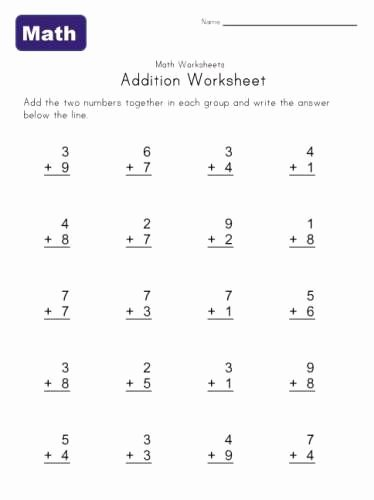 Multiplication Worksheets for Kindergarten Best Of Printable Kindergarten Math Worksheets