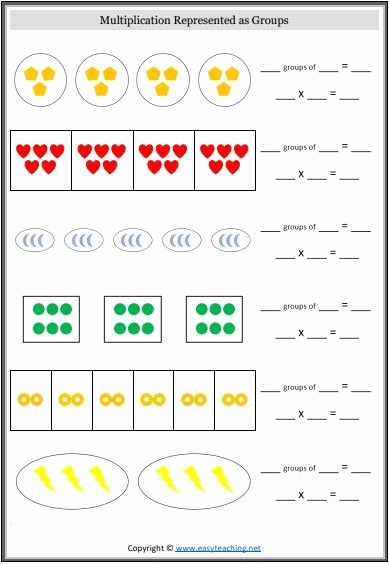 Multiplication Worksheets for Kindergarten Fresh Beginner Multiplication Worksheets An Introduction